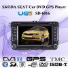 Nouveau joueur de la voiture DVD GPS d'affichage à cristaux liquides de Digitals HD de siège spécial (SD-6025)