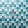 Зеленый глянцевая хрустальное стекло мозаика плитка для ванной комнаты (CFC154)