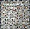 六角形の川の貝のモザイク(SSSM-020)