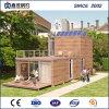 高品質の洗面所が付いているプレハブの鋼鉄輸送箱の家