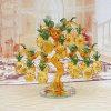 Кристально чистый звук мебелью подарок поощрения Gold Crystal Ананас дерева
