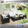 Rattan bom de Furnir Wf-17043 jogo ao ar livre do sofá do pátio de 4 partes