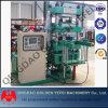 Máquina Vulcanizing da placa de quatro colunas que exporta no mercado de 3Sudeste Asiático