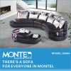 Sofá de canto barata, sofá de couro Design