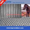 Couvre-tapis en caoutchouc d'animal de feuille de vache de cheval en caoutchouc Grooved de couvre-tapis