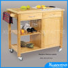 Lipper International Bamboo Kitchen Trolley con Drawer