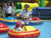 Горячее Selling Fwulong Inflatable Water Bumper Boat для Kids с 2PCS Batteries