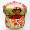 Chapéus encantadores das crianças dos bonés de beisebol dos desenhos animados das meninas (JT-A0012)