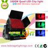 De Draadloze LEIDENE DMX Kleur Lichte 96PCS*10W RGBW 4in1 LEDs van de Stad