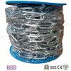 E. Гальванизированное (DIN764/DIN766/DIN5685) звено цепи DIN763 с сертификатом фабрики