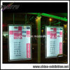 Cadre léger acrylique d'affichage transparent de guichet (TY-DX-LS-001)