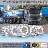 19.5X7.5 алюминиевый полированный алюминиевый колесный диск для погрузчика и прицепа