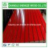 Red Color Melamine Faced Slot MDF