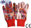 Jardin Hand Work Gloves de Nmsafety Colorful Cotton avec Dots