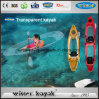 100% transparente assentos duplos Limpar Kayak