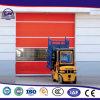 Tecido de PVC Automática Industrial rápido de Alta Velocidade Rápida Garagem Shtter evolutivo superior de puxador exterior de porta