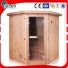 Stanza di legno solida di legno di sauna del cedro di Tradictional della gente di Fenlin 4