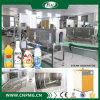 Halbautomatische Shrink-Hülsen-beschriftenmaschinerie für Saft-Flaschen