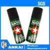Spray au poivre de l'OTAN du spray au poivre 60ml d'autodéfense