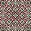 Tecidos baratos de pêssegos de lã impressos (SZ-011)
