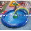 Belüftung-Plane-aufblasbares Wasser-Pool/aufblasbarer Coco-Baum-Swimmingpool