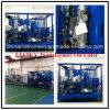 1800L/H, 75kv vide élevé de purification de l'huile de la machine pour utiliser l'huile de transformateur, de petite taille purificateur d'huile du transformateur