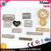 Изготовленный на заказ плита логоса металла для сумок мешков (MTNP025)