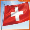 カスタムSunproofの国旗のスイス連邦共和国の国旗防水すれば