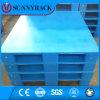 Pálete plástica do HDPE fácil de uma superfície 1200*1000 plana limpa da fábrica de China