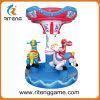 Machine de jeu d'Amusement merry go round kiddie ride