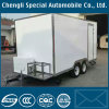 2axles 5 cbm Food Carts Trailer