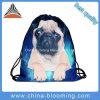 Hot Sale caractère 3D de sac à dos de l'impression Voyage Sac avec lacet de serrage