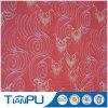 China el contorno rojo impermeables tejido Jacquard de patrón de los textiles
