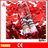 Partido transparente Popper del confeti con la mariposa etc de Rose del corazón