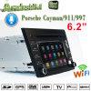 Carplay Android 7.1 Reproductor de DVD para Auto Prosche Caimán Navigatior GPS con conexión WiFi Hualingan conexiones de teléfonos Android