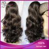 Ponytail malese dei capelli umani del Virgin dell'arricciatura all'ingrosso del corpo 2#
