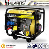 Big WheelsおよびHandles (DG6000EW)のディーゼルWelding Generator