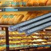 Luces de Digitaces de la barra de la tira del aluminio LED para el escaparate de la torta del pan