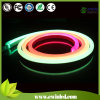 Luce al neon diritta rotonda della corda della flessione di figura LED