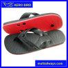 Zapatos masculinos de la sandalia del deslizador del PE con la planta del pie del color de dos capas