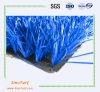 サッカーのための青いカラーヤーンを持つ人工的な芝生、総合的な泥炭の草、フットボールおよびスポーツ