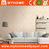 PVC impermeável Embossed Wall Paper para Decoration