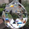 Heet verkoop de Tegenhanger van de Vorm van de Kristallen bol met Één Gat (ks25067)