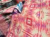 Mousseline satiné en polyester satiné 30d avec impression