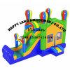 Neuer Entwurfs-aufblasbares springendes Schloss mit Ballon-Thema
