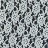 de la tela blanca del cordón para la ropa, la cortina y otras