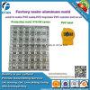 Muffa personalizzata di alluminio del contrassegno del PVC di produzione della fabbrica dell'incisione per la macchina d'erogazione del PVC