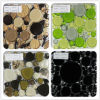 300X300mm New Style Gold Glass Irregular Mosaic for Building (VMG1008)