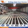 Viga de acero galvanizado y columna para el proyecto de estructura de acero