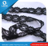 White Allover Jacquard Nylon Elastic Lace